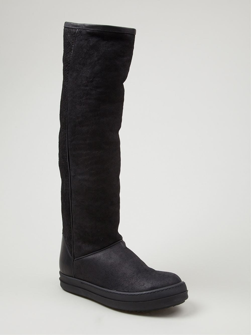 Knee High Boots by Rick Owens in The Hateful Eight