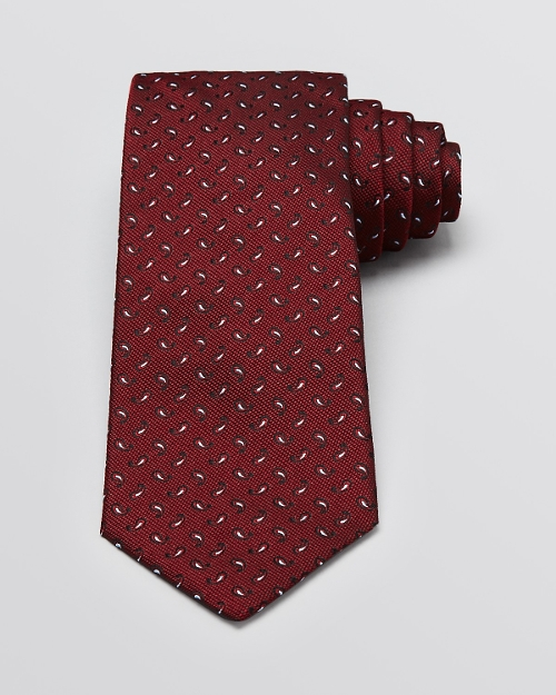 Paisley Pine Classic Tie by Yves Saint Laurent in Unfinished Business