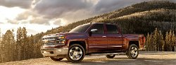 Silverado Pickup Truck by Chevrolet in The Boy Next Door