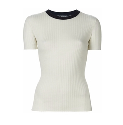 Ribbed Knit Top by T By Alexander Wang   in Supergirl