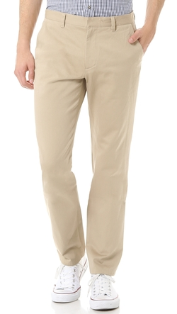 Flat Front Gabardine Chino by A.P.C. in Gone Girl