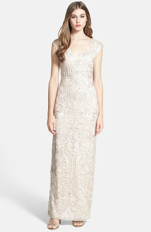 Embellished Illusion Back Gown by Sue Wong in On Her Majesty's Secret Service