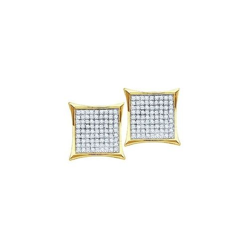 Diamond Fancy Square Stud Earrings by Precious Gem Jewellers in Ballers - Season 1 Episode 6