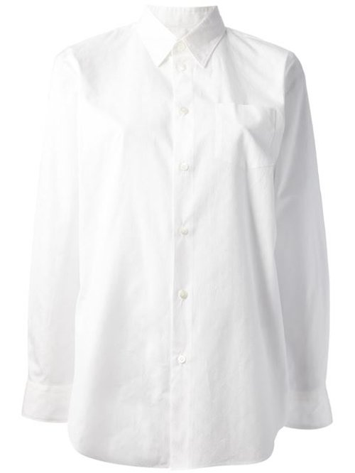 Button Down Shirt by Junya Watanabe Comme Des Garcons in Spy