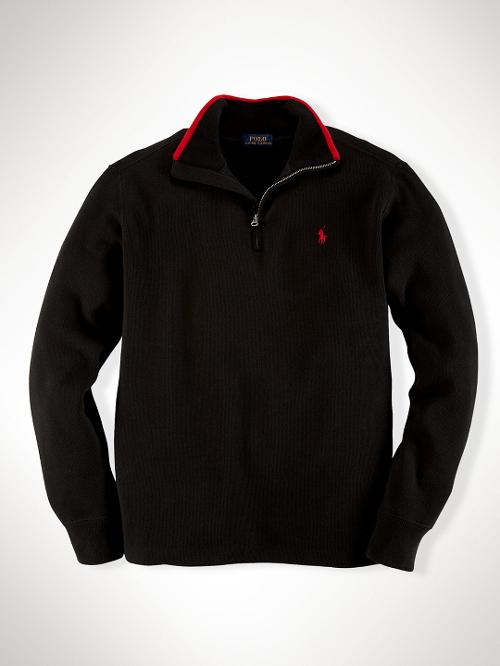 French-Rib Cotton Pullover by Ralph Lauren in Little Fockers