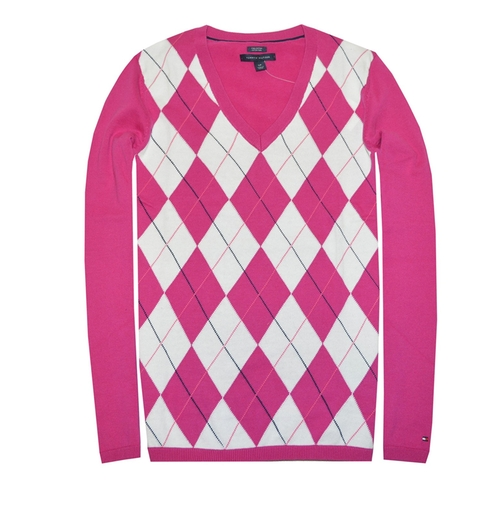 Classic Argyle Sweater by Tommy Hilfiger in Pretty Little Liars - Season 7 Episode 10
