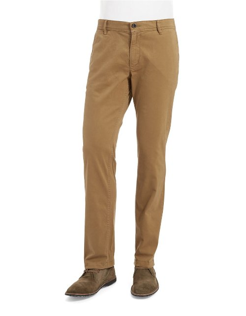 Straight Leg Chino Pants by Hugo Boss in The Gunman
