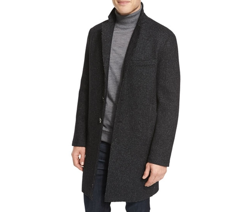 Wool-Blend Knit Crombie Coat by Michael Kors in The Last Witch Hunter