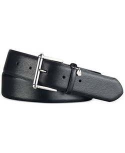 Saffiano Leather Belt by Lauren Ralph Lauren in The Forest
