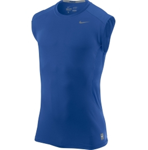 Nike Men's Pro Combat 2.0 Fitted Sleeveless Shirt by Nike in Trainwreck