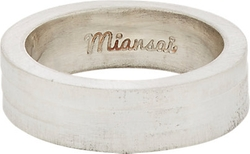 Layered Band Ring by Miansai in Rock The Kasbah