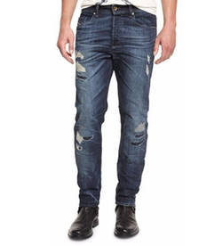 Buster Distressed Denim Jeans by Diesel in Guardians of the Galaxy Vol. 2