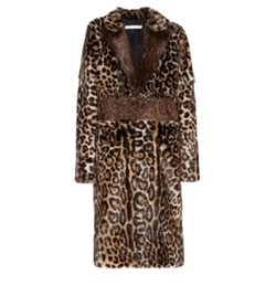 Multicolor Leopard Print Fur Coat by Givenchy in Keeping Up With The Kardashians