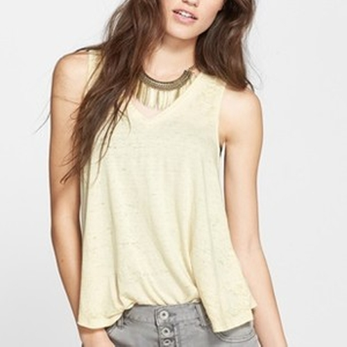 Breezy Tank Top by Free People in New Girl
