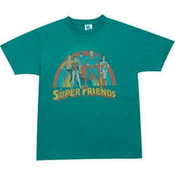 Super Friends T-shirt by 80s Tees in The Big Bang Theory