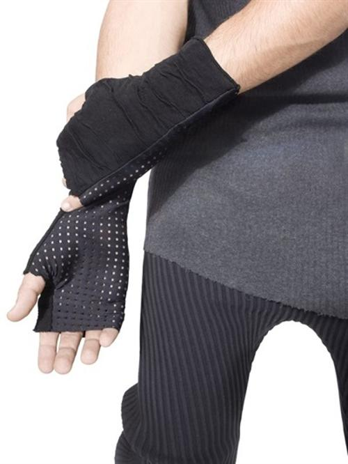 Mechanic Perforated Gloves by Demobaza in Step Up: All In