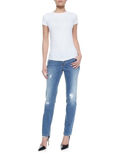Soft Vintage Distressed Jeans by Christopher Blue in Fast & Furious 6