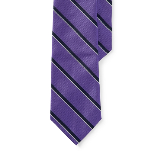 Striped Silk Tie by Ralph Lauren in High School Musical 3: Senior Year