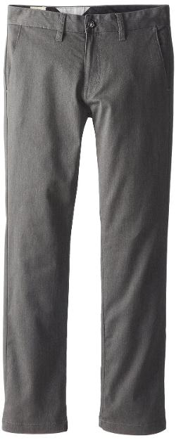 Boys 8-20 Frickin Modern Stretch Chino Pant by Volcom in St. Vincent