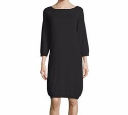 Quarter Sleeve Cotton Dress by Joan Vass in The Intern