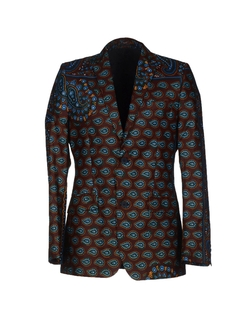 Printed Blazer by Dent De Man in Empire