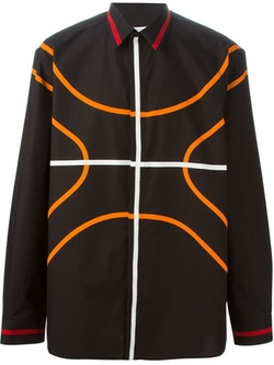 Basketball Contour Shirt by Givenchy in Empire