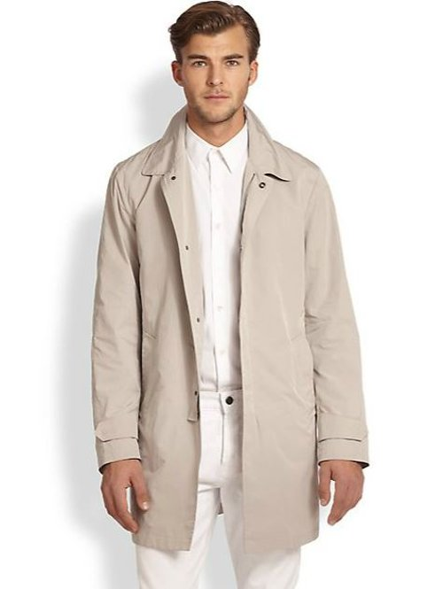 Layered Microfiber Jacket by Allegri in The Counselor