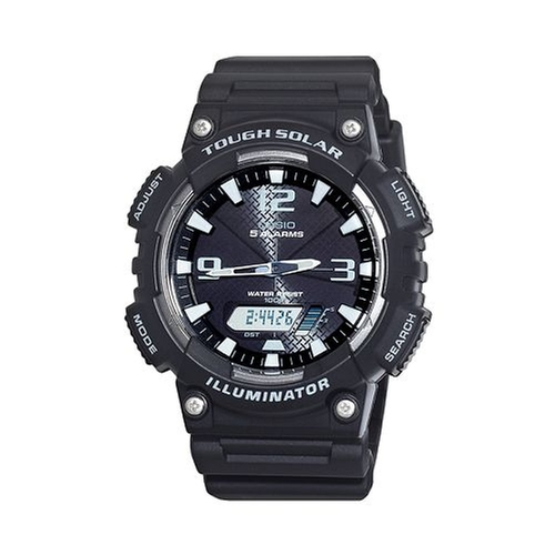 Tough Solar Resin Chronograph Watch by Casio in Need for Speed