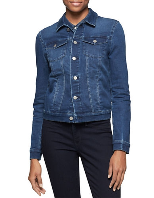 Denim Jacket by Calvin Klein Jeans in She's The Man