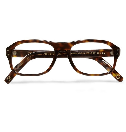 Tortoiseshell Acetate Square-frame Optical Glasses by Cutler And Gross in Kingsman: The Secret Service
