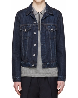 Denim Who Jacket by Acne Studios in Chelsea