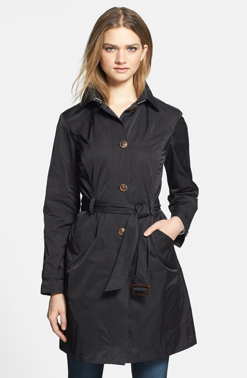 Packable Trench Coat by Rainforest in Pretty Little Liars - Season 6 Episode 5
