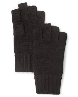 Cashmere Fingerless Gloves by Bloomingdale's in The Man from U.N.C.L.E.