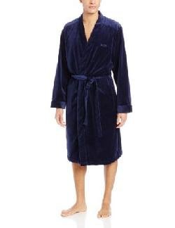 Men's Velour Kimono Robe by Hugo Boss in The Great Gatsby