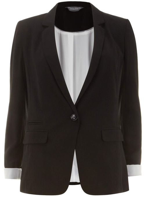 Tall One Button Blazer by Dorothy Perkins in She's Funny That Way