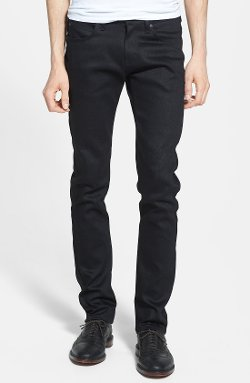 Super Skinny Guy Skinny Fit Jeans by Naked & Famous Denim in That Awkward Moment