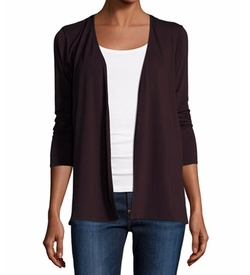Soft Touch Open Cardigan by Majestic Paris for Neiman Marcus in The Good Fight