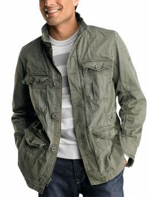 Commander Slub Twill Jacket by Gap in Supernatural - Series Looks