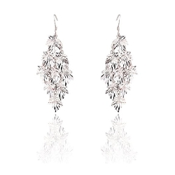 Diamond Shape Drop Earrings by JewelCool - Spirelle in Mean Girls