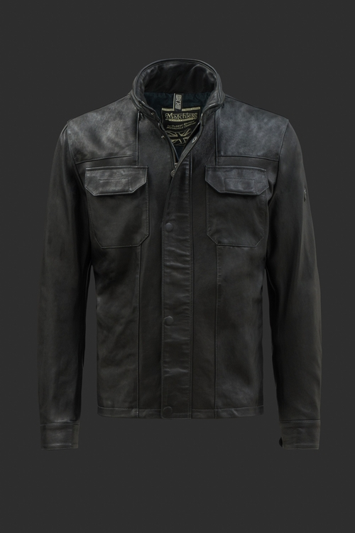 Falcon Leather Jacket by Matchless in Captain America: Civil War