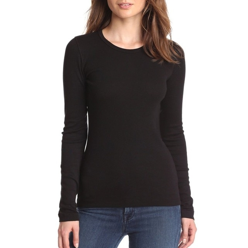 Long-Sleeve Crew T-Shirt by Splendid in Keeping Up With The Kardashians - Season 11 Episode 11
