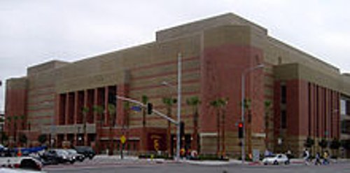 Galen Center Los Angeles, California in The Gambler