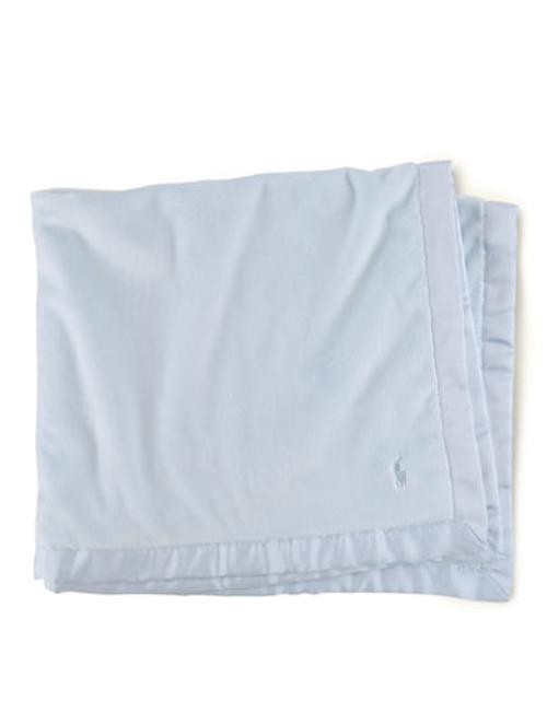Baby Boys Plush Blanket by Ralph Lauren Childrenswear in Wish I Was Here