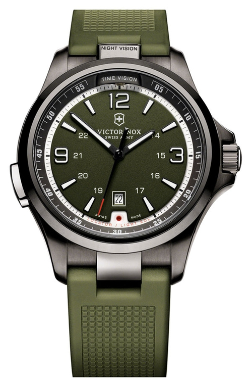 'Night Vision' Rubber Strap Watch by Victorinox Swiss Army in Scandal - Season 5 Episode 2