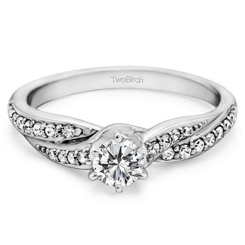 Sterling Silver Promise Ring by TwoBirch in Pretty Little Liars - Season 6 Episode 10