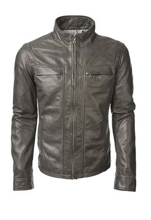 Grant Lamb Leather Jacket by Danier in Arrow - Season 4 Episode 7