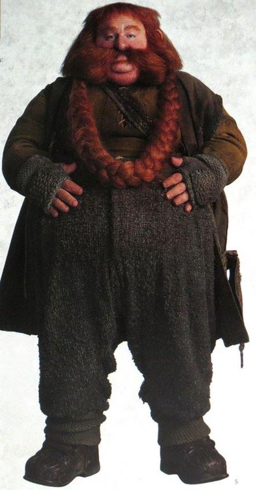Custom Design Bombur Costume by Ann Maskrey (Costume Designer) in The Hobbit: The Battle of The Five Armies