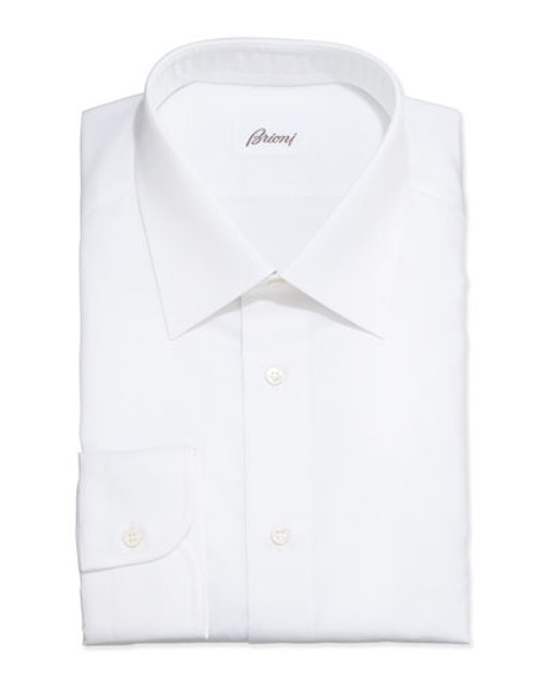 Micro-Stripe Dress Shirt by Brioni in The Loft