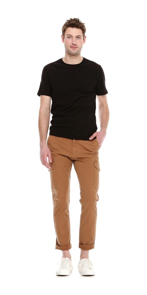 Men's Crew Neck Slub T Shirt by Joe Fresh in While We're Young