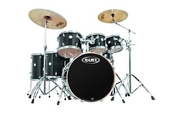 Black Drum Set by Mapex in Begin Again